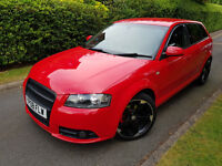 FACELIFT 2008 AUDI A3 2.0TDI S-LINE,ONE OWNER,HEATED LEATHER,PARKING SENSOR,EXCELLENT CONDITION