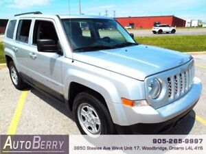 2011 Jeep Patriot North **Certified**ONE OWNER** REDUCED $8,999