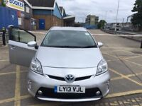 PCO CAR HIRE RENT TOYOTA PRIUS 2013 £120p/w READY FOR UBER