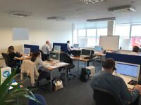 Serviced Offices - 2 to 10 person offices or suite for 14 within busy Hillington Business Centre