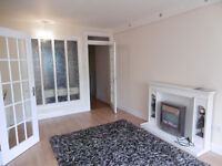 Newtownards - central ground floor 2 bedroom unfurnished flat to let.