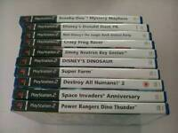 PLAYSTATION TWO GAMES X 10 ALL AS SHOWN ****£ 10 ****