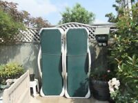 Good quality sunloungers