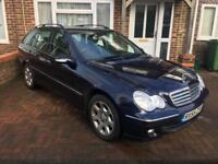 Mercedes C200 Petrol Automatic estate new chain
