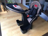 WeeRide Front Mounted Deluxe Child seat, Ages 1-4