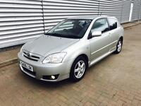 Toyota Corolla 1.6 vvti colour collection in immaculate condition 1 years mot full service history