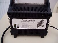 Fraser Auto Battery Charger for Golf Trolley