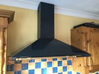 100cm Chimney Canopy Extractor for sale, in good condition.
