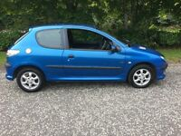 2003 Peugeot 206 3dr Petrol, Manual