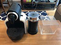 Nespresso machine w/Aerator