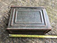 Metal Ammunition Box