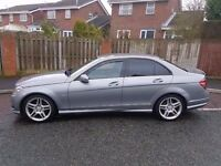 2010 MERCEDES C220 (250) CDI AMG SPORT STUNNING SPEC CONDITION AND LOOKS