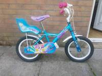 Girls child's bike