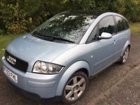 Audi A2 1.6 FSI Sport 2003 Huge Specification. Running Condition Spares Or Full Car