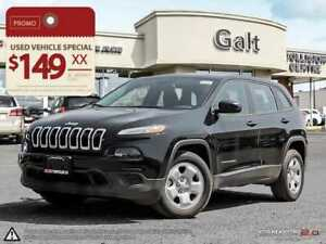 2017 Jeep Cherokee SPORT DEMO | BLUEOOTH 5.0TOUCH TIRE SENSOR