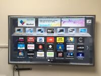 "PANASONIC VIERA LED TV – 50"" - EXCELLENT CONDITION (LIKE NEW)"