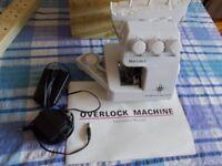 Sewland Electric Overlock Overlocking Sewing Machine