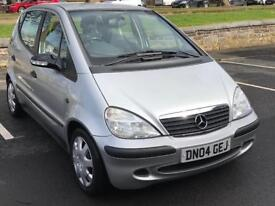 2004 MERCEDES BENZ CLASS * A140 * MOT - FEB 2019 * SERVICE BOOK * LOW MILES * P/X * DELIVERY