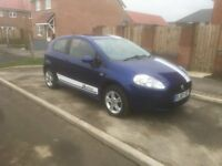 2008 fiat grande punto active 1.2 very cheap insurance ideal first car £875