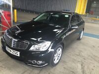 Mercedes C220 Cdi blue efficiency 2014 manual gear box and PCO registered £ 9,999