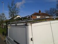 Full Length Roof Rack, from a Ford transit SWB, Low Roof