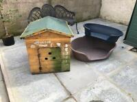 Dog box and dog beds
