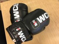 Ultra White Collar Boxing Gloves - used but still in good shape