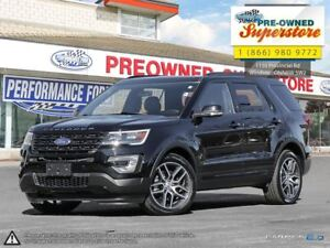 2017 Ford Explorer Sport***MOONROOF, 2ND ROW CONSOLE***