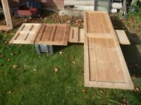 30 Pine, previously unfitted, cupboard doors.