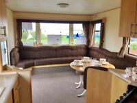 GREAT OFFER ON THIS STARTER STATIC CARAVAN. NORTHUMBERLAND COAST. GREAT VIEWS. 12 MONTH OWNER SEASON