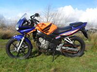 Honda cbr 125 rs5