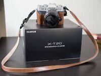 Fujifilm X-T20 18-55mm lens kit (Silver)