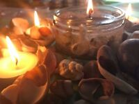 Handmade Clear Seashell Candle (Sea Breeze Scented)
