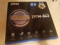MSI Z97M-G43 + Intel G3258