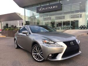 2015 Lexus IS 250 Luxury Pkg 1 Owner Navi Backup Cam Sunroof