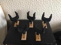 Hercules Wall mounted guitar hangers BRAND NEW