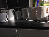 Various kettles