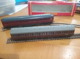 4 hornby coaches