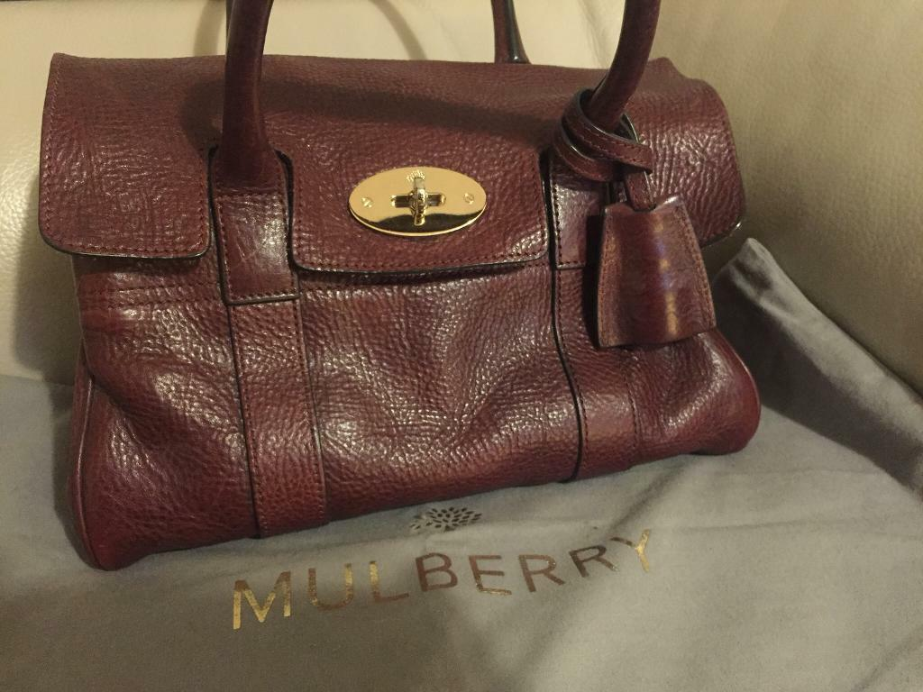 Mulberry Bayswater Small - oxblood   in Southampton, Hampshire ... cd442296fd
