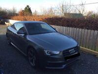Audi A5 Black Edition Grey Automatic Diesel Full Audi Service History