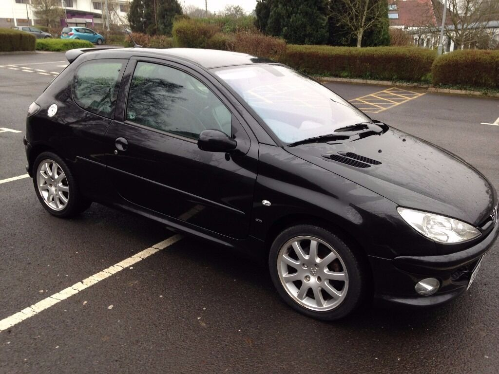 peugeot 206 1 6 hdi gti 110bhp in shepton mallet. Black Bedroom Furniture Sets. Home Design Ideas