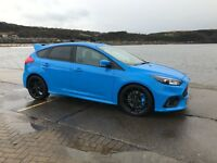 Ford RS FOCUS, NITROUS BLUE< DELIVERY MILES< EVERY EXTRA except shell seats