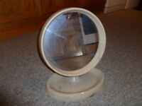 Retro Bedroom Dressing Table Vanity Mirror with make-up/jewellery tray.