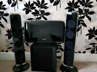 Samsung HT-X720GT 2.1 Surround Sound Home Cinema System dvd cd usb ipod