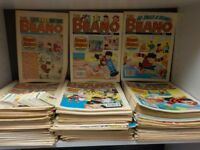 1980's Classic Vintage Beano Comics Huge Collection X 100