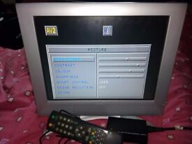 "15"" LCD TV TELEVISION no freeview"