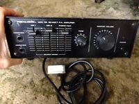 20 watts public address amp