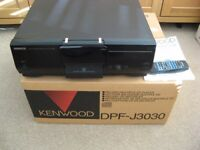 KENWOOD DPF-J3030 Multiple CD Palyer, hold 200 discs! Boxed, in perfect condition