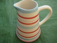Striped Mason Cash Jug