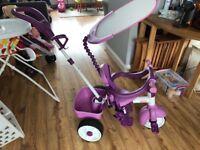 Little tikes trike, purple, good condition